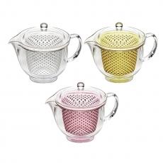 曙產業 透明茶壺L(3色)