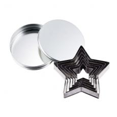 SALUS 餅乾模6件組-星星