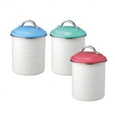 SALUS 復古收納罐-彩蓋(三色)