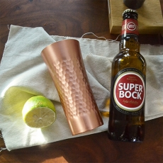 橋本金屬 銅製冷飲杯-350ml