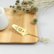 SALUS 復古雕花午茶餐具-蛋糕鏟(金)