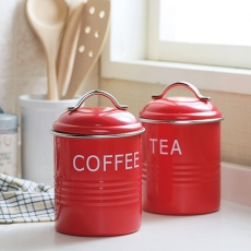 SALUS 復古收納罐-紅(三款)