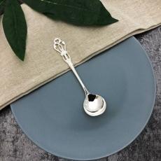 SALUS 復古雕花午茶餐具-糖匙(銀)
