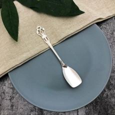 SALUS 復古雕花午茶餐具-冰淇淋匙(銀)