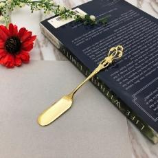SALUS 復古雕花午茶餐具-抹刀(金)