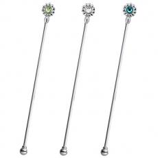 SALUS 花朵小鑽-攪拌棒(3色)