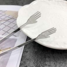 SALUS 迷你小手食物夾-銀